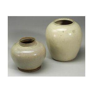 Two Storage Jars