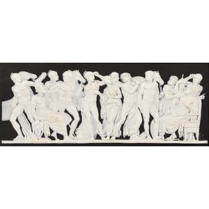 Wedgwood Black Jasper Dip Plaque