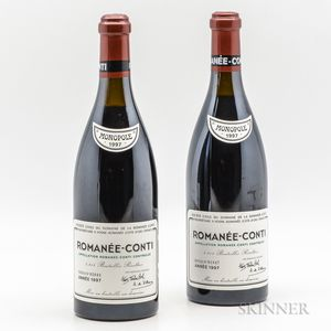 Domaine de la Romanee Conti Romanee Conti 1997, 2 bottles