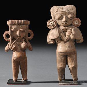 Two Michoacan Pretty Ladies