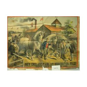 Five 19th Century Broadsides and Poster