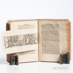 Montfaucon, Bernard de (1655-1741) Diarium Italicum. Sive Monumentorum Veterum, Bibliothecaru, Musaeorum, &c.