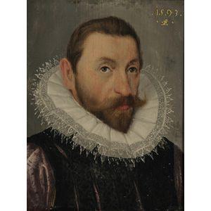 Manner of Lorenz Strauch (German, 1554-1630)      Head of a Man