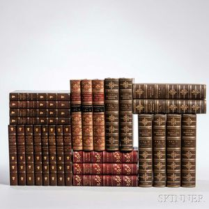 Decorative Bindings, Sets, Literature, Twenty-six Volumes.