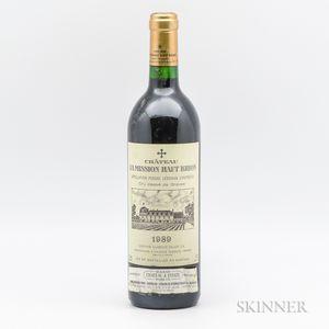 Chateau La Mission Haut Brion 1989, 1 bottle