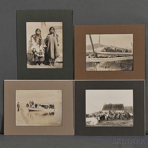 Nowell, Frank H. (1864-1941) Eight Photographs Taken in Alaska, c. 1905.