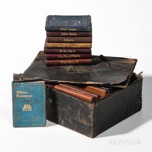 "Assembled Set of Miniature ""Shakespeare"