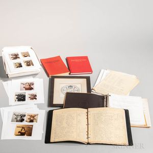 Charles E. Smart Archival Material and Books
