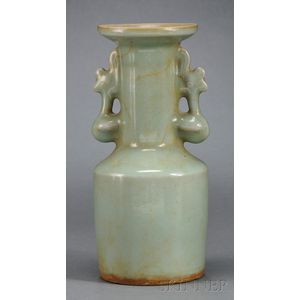 Longquan Celadon Kinuta Vase