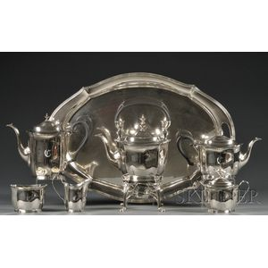 R. Blackington & Co. Sterling Seven-piece Tea and Coffee Service