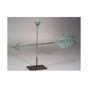Copper Arrow Weathervane