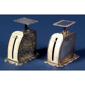 Pair of Gorham Sterling Silver Postal Scales