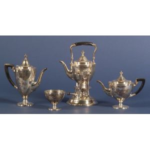 Four Piece Tiffany & Co. Sterling Tea and Coffee Service