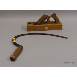 Sickle and Woodworking Plane Hand Tools