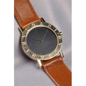 18kt Gold Wristwatch, Bulgari
