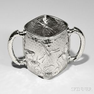 Dominick & Haff Sterling Silver Two-handled Loving Cup