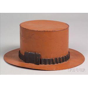 Painted Tin Anniversary Hat