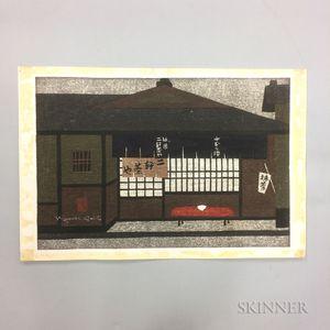 Kiyoshi Saito (1907-1997), Teahouse