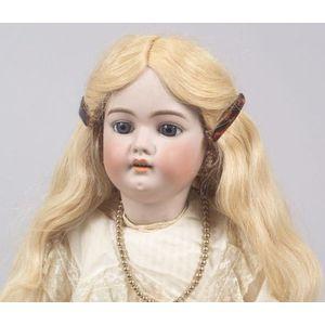 Large Simon & Halbig Bisque Head Girl Doll