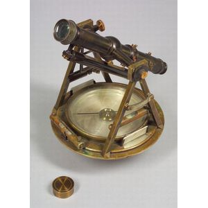 Brass Theodolite by W. & L. E. Gurley