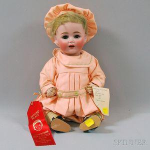 Kestner 257 Flirty Eye Character Baby