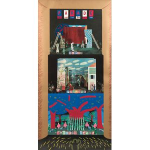 David Hockney (British, b. 1937)      Parade Metropolitan Opera