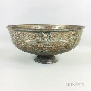 Tinned Copper Bowl