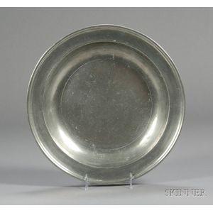 Large Pewter Deep Dish