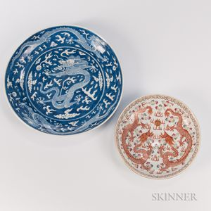 Two Dragon Dishes