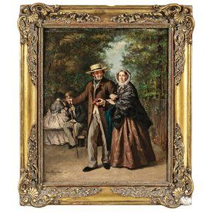 Victor de Bornschlegel (French, 1820-1891)      A Lasting Affection