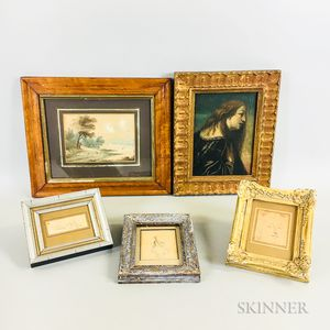 Five Small Framed Works