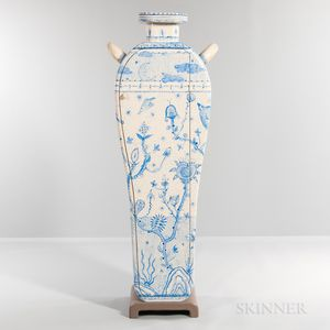 """Tommy Simpson """"Blue Lagoon"""" Cabinet"""