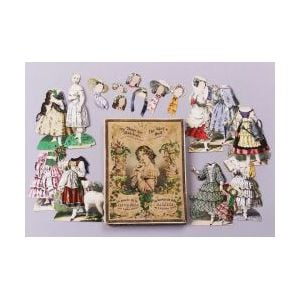 The Girl's Doll with Eight Beautiful Dresses Boxed Set