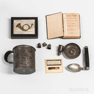 Group of Civil War-era Items