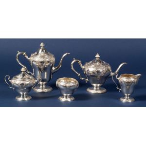 Watson Sterling Five-Piece Tea and Coffee Service
