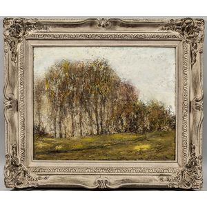 American School, 20th Century    Impressionist Landscape