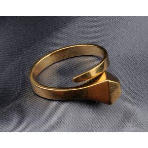 18kt Gold Ring, Elsa Peretti, Tiffany & Co.