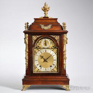 Mahogany Quarter-chiming Bracket Clock