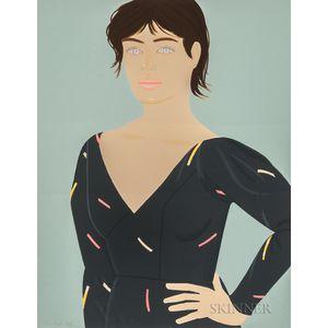 Alex Katz (American, b. 1927)      Gray Dress (Laura)