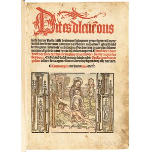 Ludolph of Saxony [aka] Ludolphus de Saxonia and Ludolph the Carthusian (c. 1295-1378) Dit es dleve[n] ons liefs heren Jhesu Cristi [Vi