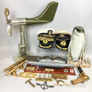 Collection of Military and Nautical Items