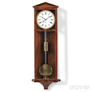 Eight-day Biedermeier Vienna Wall Regulator