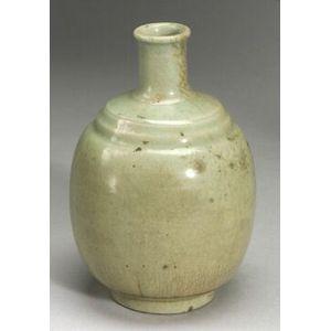 Celadon Sake Bottle