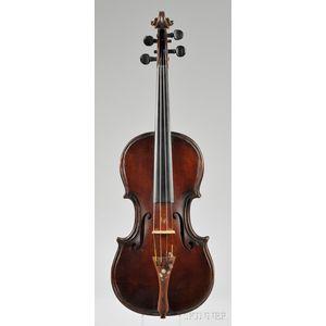 American Violin, J.C. Richards, Phoenix, Rhode Island, 1922