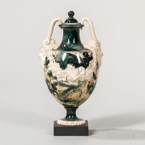 Porphyry Vase and Cover
