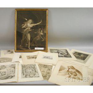 European School, Mostly 19th Century      Lot of Twenty-six Works on Paper