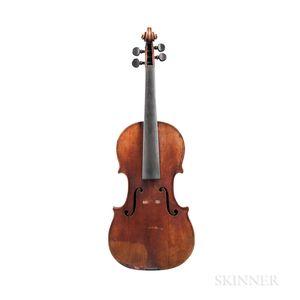 Austrian Violin, Carl Zach, Vienna, 1896