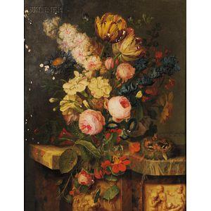 Michel Joseph Speeckaert (Belgian, 1748-1838)      Bouquet de fleurs