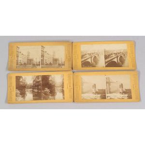 Large Group of Approximately Six Hundred Stereoscopic Cards