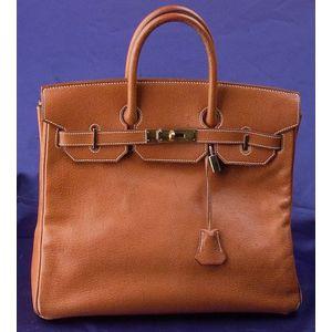 "Porc Lisse ""Birkin"" Handbag, Hermes"